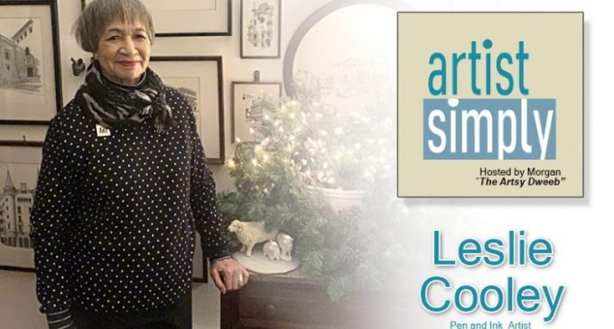 artist simply Interviews Leslie Cooley