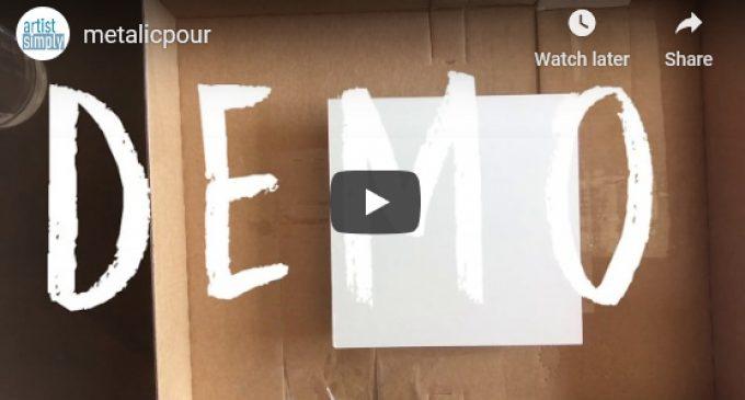 Demo Video – Metallic Acrylics