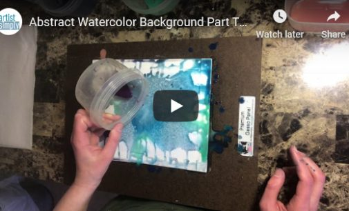 Demo Video- Abstract Watercolor Background
